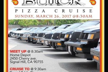 CA: Turbo Buick Pizza Cruise 3/26/17