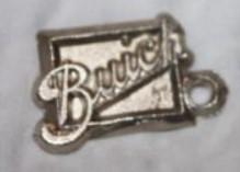 buick keychain tag