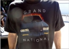 1987 buick grand national black shirt