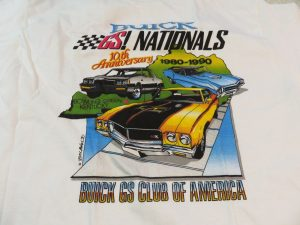 1990 buick gs nationals shirt
