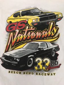 Buick GS NATIONALS 33rd Annual T Shirt