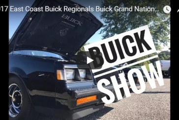 2017 East Coast Buick Regionals MAGNA Buick Car Show (video)