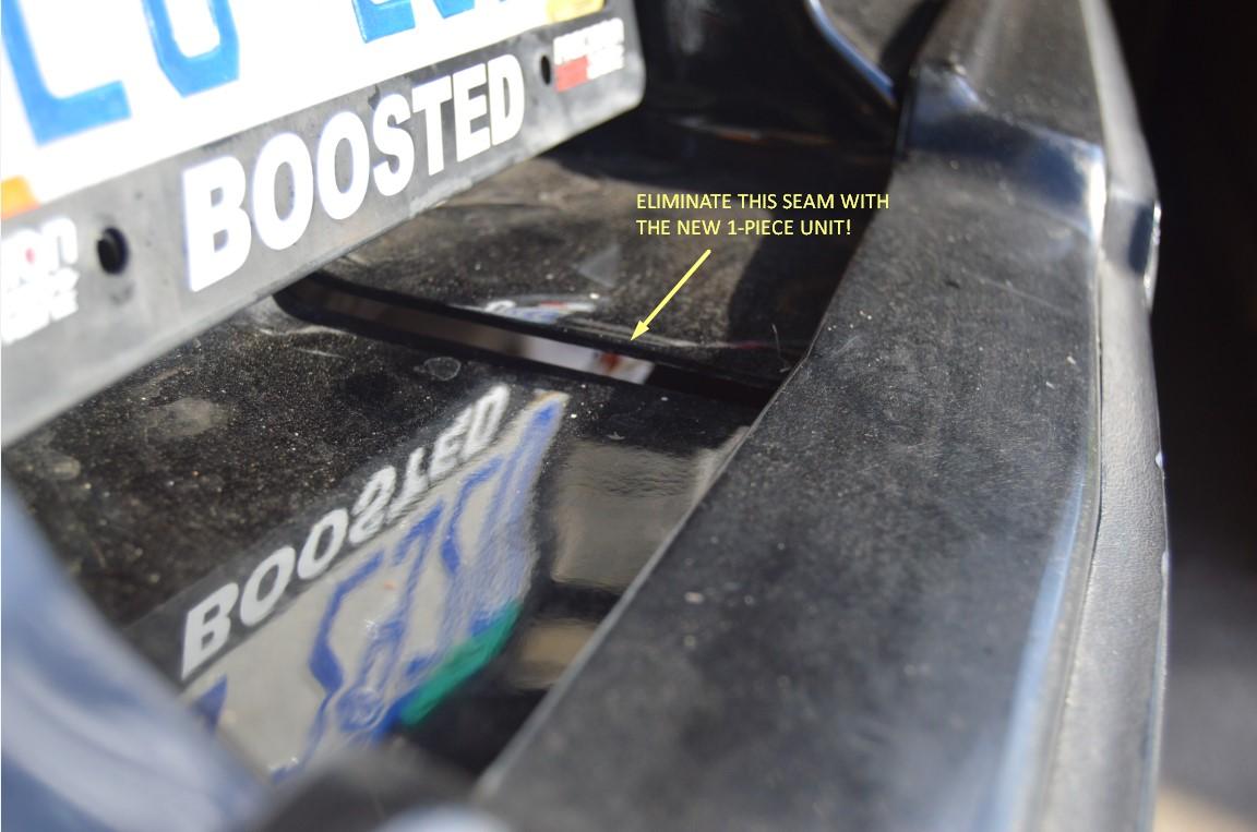 SpoolFool Single Piece Rear Bumper Filler for Buick Grand