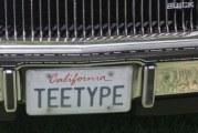 Buick Turbo T & Regal T-type Vanity Plates
