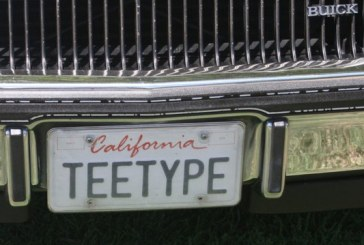 Buick Turbo T & Regal T-type Vanity Plates