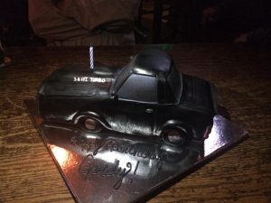 buick regal gn cake 1