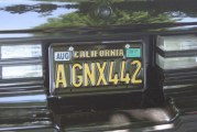 Buick GNX Owners Vanity License Plates