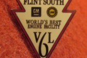 Official Buick Plant Factory Promo Pins