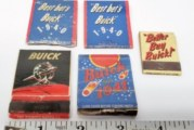 Buick Themed Matchbooks