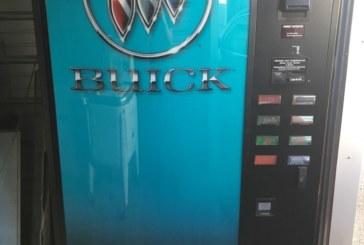 Buick Tri-shield Logo Soda Pop Vending Machine