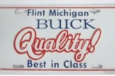 Assorted Buick Novelty License Plates