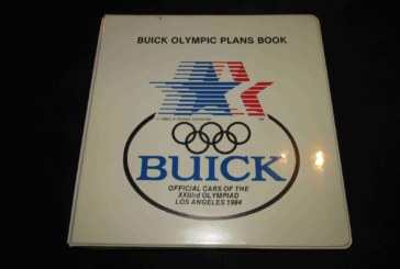 1984 Buick Olympic Plans Book