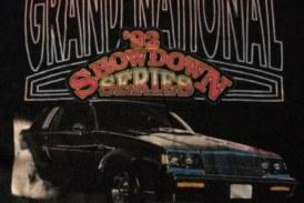 Vintage Showdown Series Type Buick Racing Shirts