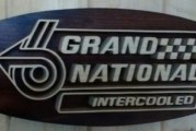 Buick Regal Inspired Mantle Shelf Wall Plaques Signs