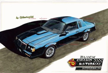 Custom Drawn Buick Grand Nationals Prints