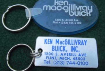Buick Auto Dealership Key Chains