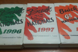 1996 1997 1998 Buick GS Nationals VHS Videos!