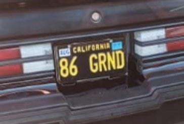 Custom Buick Grand National Vanity License Plate