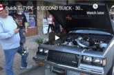Interview With an 8 Second Buick Turbo T Owner (video)