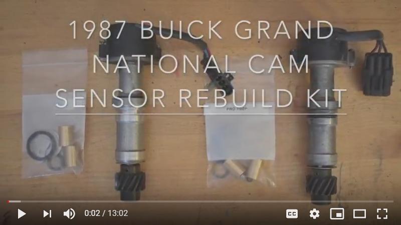 Buick Grand National Timing Decal CAM Sensor Mark Tape