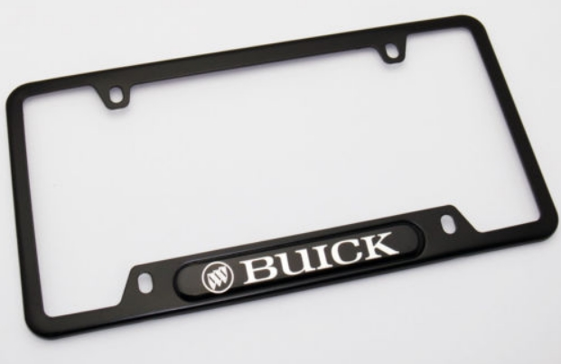 Assorted Buick Dealer License Plate Frames Buick Turbo Regal