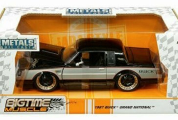 Metals 1:24 Die Cast Bigtime Muscle Buick Grand National WH1 Paint Scheme