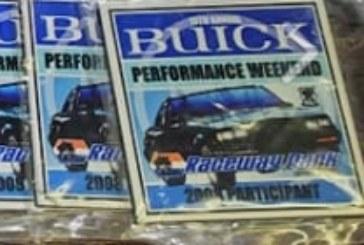 Buick Car Meet Dash Plaques