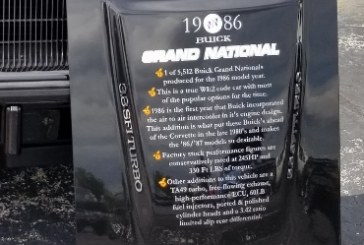 More Buick Grand National Car Show Display Signs