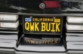 Quick! Get a Buick Vanity License Plate!