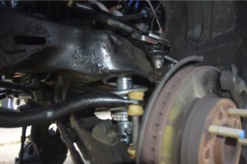 Taller Ball Joints & Front Coilover Setup on Buick Grand National