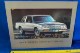 Buick Dealer Regal Promo Signs
