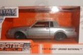 Jada Metals BigTime Muscle 1:32 Buick Grand National (two-tone silver)