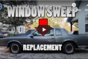 Door Glass Window Sweeps Replacement (video)