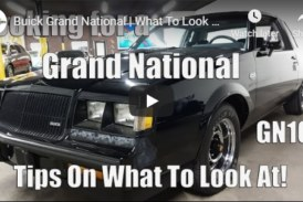 Buyers Guide for Purchasing an Original Buick Grand National (Video)