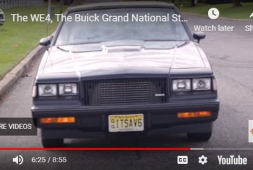 What Exactly is a 1987 Buick Turbo T WE4? (video)