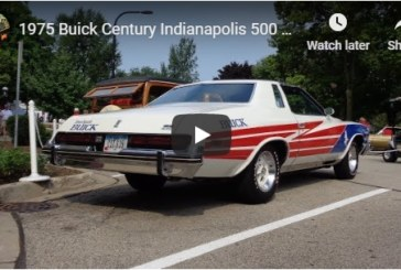 1975 Buick Century Indianapolis 500 Pace Car (video)
