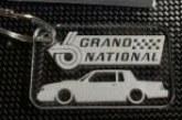 Acrylic Buick Grand National Key Chains