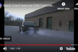 A Unique Buick Grand National Advertising Commercial (video)