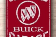 Buick Signs For Customizing Your Garage