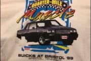 Vintage Buick Racing Headsup Shootout Type Shirts
