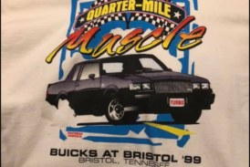 Vintage Buick Racing Headsup Shootout Type Shirts