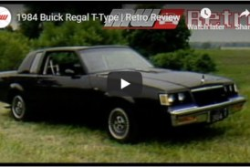 Video Review of The 1984 Buick Regal T-Type