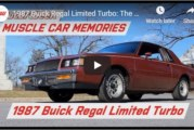 1987 Buick Regal Limited Rosewood (video)
