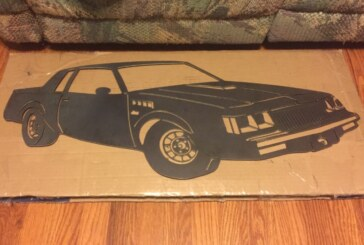 Buick Grand National Wall Art Sculptures