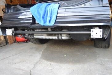 Buick Grand National Rear Frame Brace & Fiberglass Bumper Install (Part A)