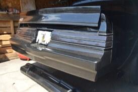 Buick Grand National Rear Frame Brace & Fiberglass Bumper Install (Part B)