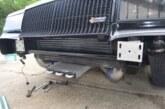 Buick Grand National Front Frame Brace & Fiberglass Bumper Install (Part C)