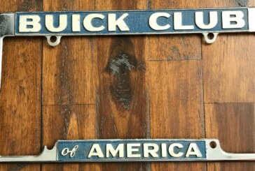 Assorted Buick License Plate Frames