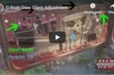 Window Door Glass Adjustment