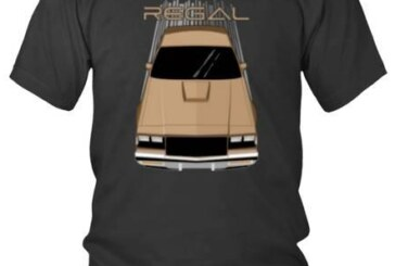 Collection of Black Buick Grand National T Shirts